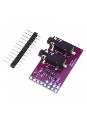 3.5mm Stereo Jack Breakout Two Channels Extension Module for Ard