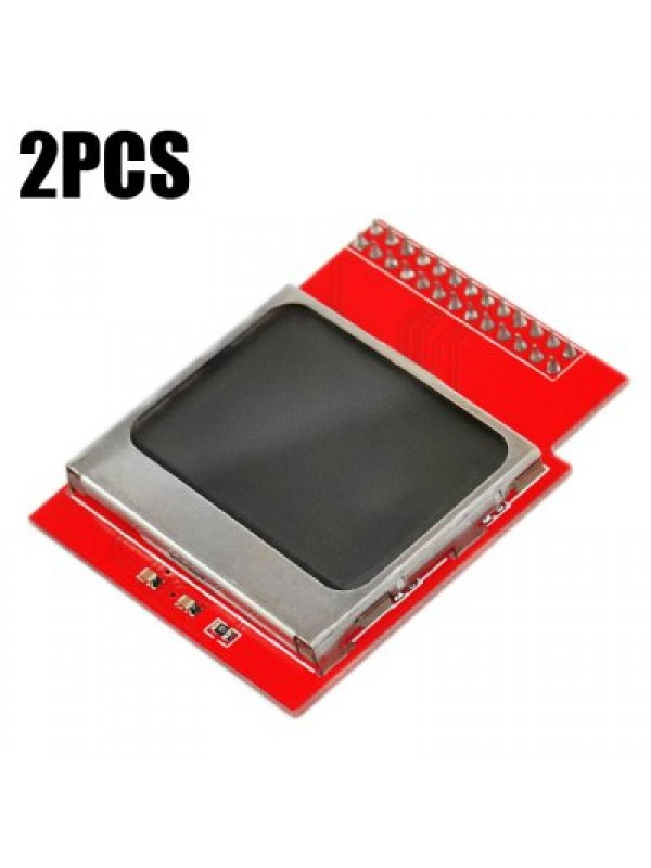 2PCS Portable 1.6 inch LCD CPU Memory Display Module for Officia