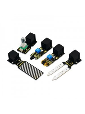 Keyestudio TS - 45 EASY Plug Learning Kit Compatible with Arduin