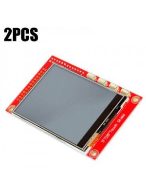 2PCS 2.8 inch Display Panel Resistive Touch Shield 320 x 240 for